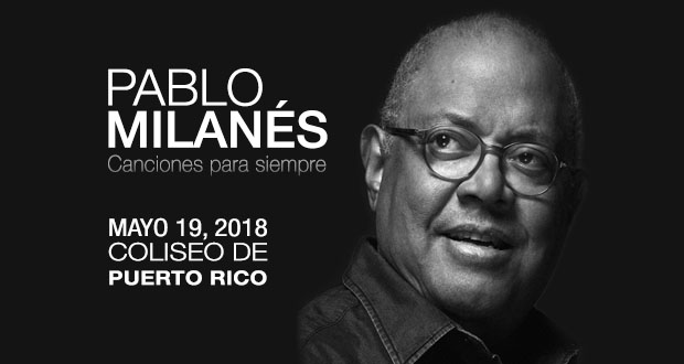 Pablo Milanés en Concierto 19 mayo 2018